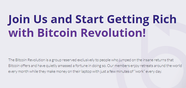 About the Bitcoin Revolution Software